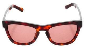 Westward Leaning Westward\\Leaning Tortoiseshell Keyhole Sunglasses