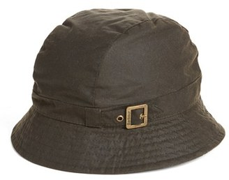 Women's Barbour Waxed Cotton Trench Hat - Green $69 thestylecure.com