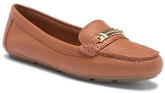 Calvin Klein Lunasi Pebbled Leather Loafer