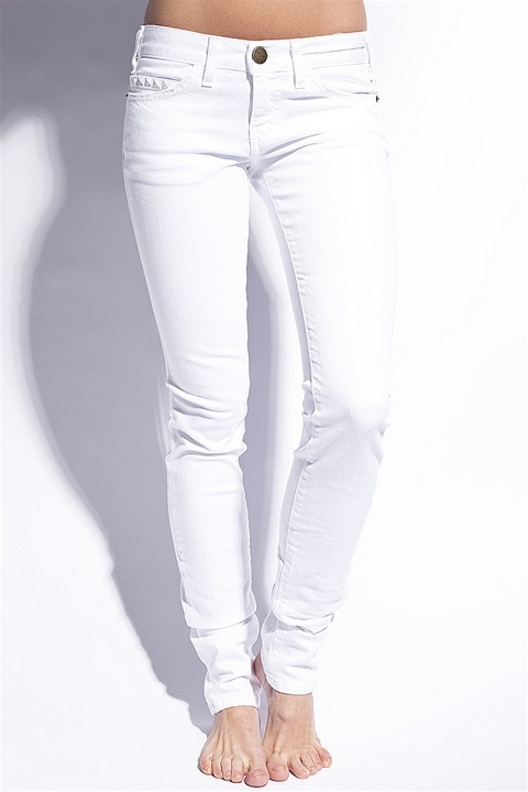 Current/Elliott Current/Elliot - White stud skinny jean, White