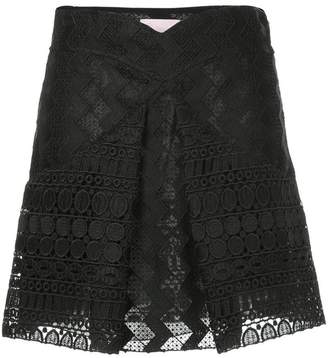 Giamba inverted pleat skirt
