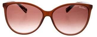 Max Mara Gradient Round Sunglasses