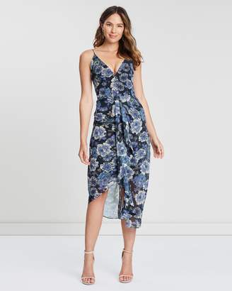 Cooper St Floral Fantasy Drape Dress