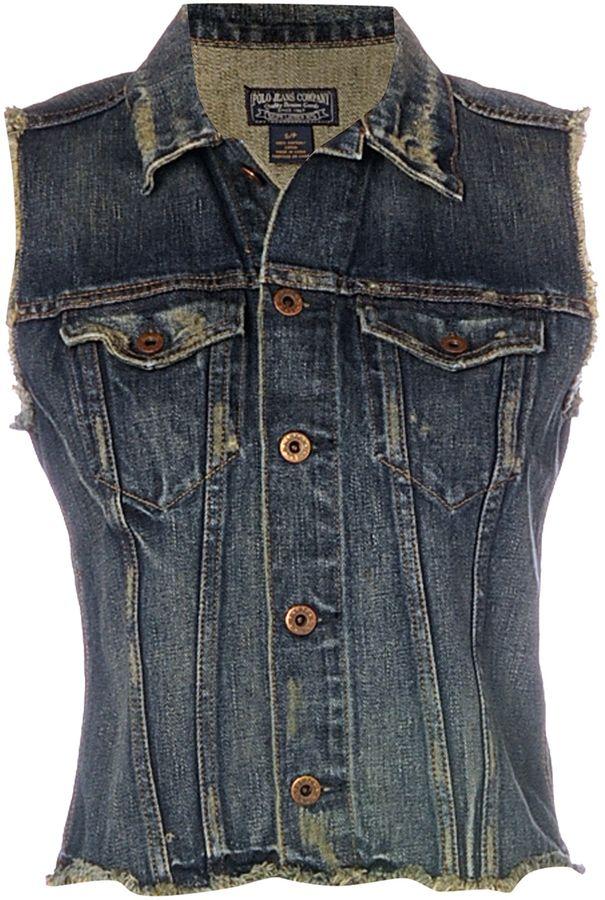 Polo Jeans Denim vest