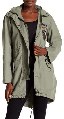 AFRM India Embroidered Patch Utility Jacket