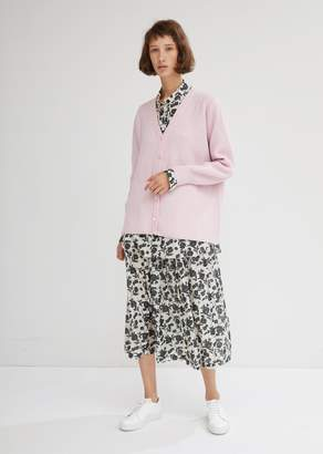 Sara Lanzi Wool-Cashmere Knit Cardigan