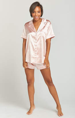Show Me Your Mumu Slumber PJ Set ~ Bridesmaid Pink