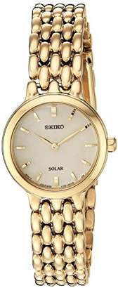 Seiko Women's 'Ladies Dress' Quartz Stainless Steel Casual Watch