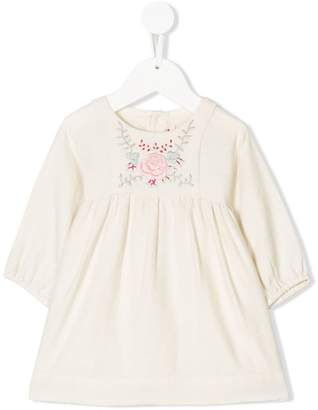 Bonpoint floral embroidered dress