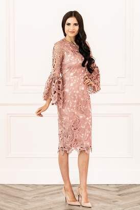 Rachel Parcell Windsor Dress in Mauve Berry