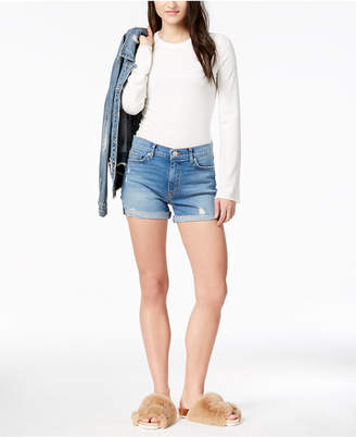 Hudson Valeri Cutoff Denim Shorts