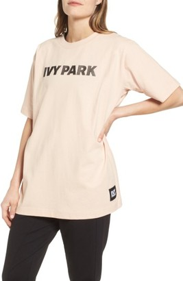 Women's Ivy Park Silicone Logo Tee $36 thestylecure.com