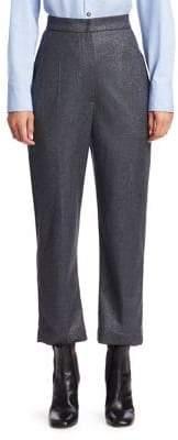 Brunello Cucinelli Glitter Flannel Pants