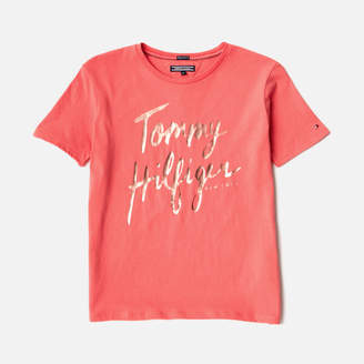 Tommy Hilfiger Girls' Ame T-Shirt