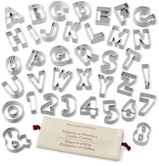 Williams-Sonoma Williams Sonoma Ultimate Alphabet & Number Cookie Set