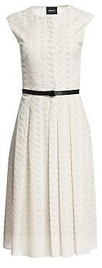 Akris Women's Leporello Cap Sleeve Shirtdress