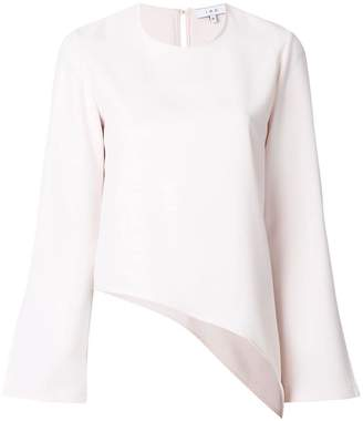 IRO asymmetric blouse