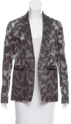 Reed Krakoff Printed Open Front Blazer