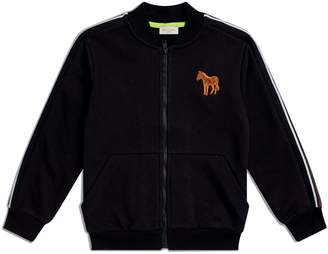 Paul Smith Embroidered Zebra Bomber Jacket