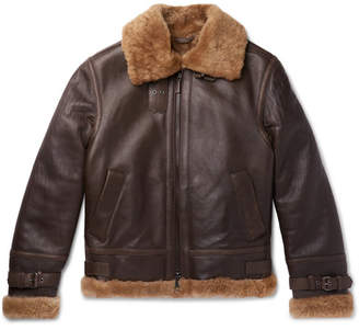 Brioni Shearling Jacket