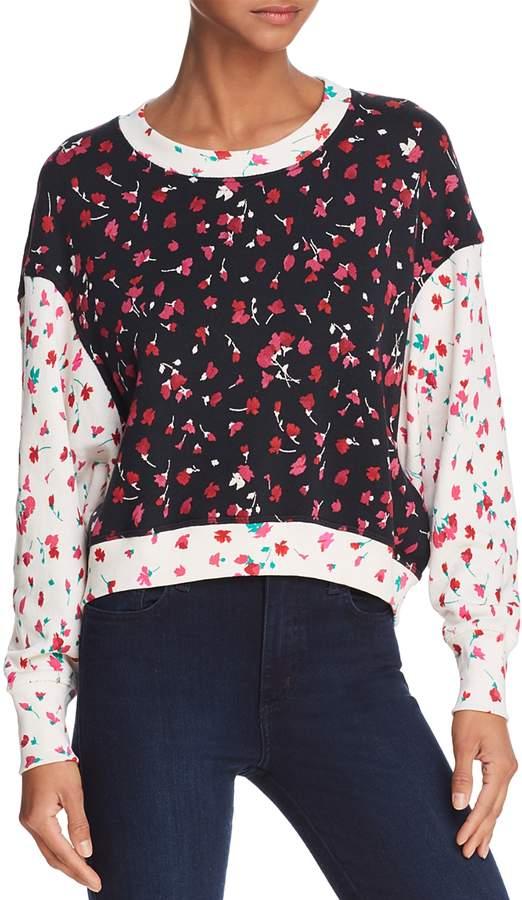 Caleigh Printed Sweatshirt
