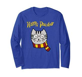 Funny Cat Shirt: Harry Pawter Long Sleeve T-Shirt