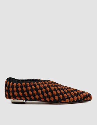 Proenza Schouler Crossover Crochet Flat