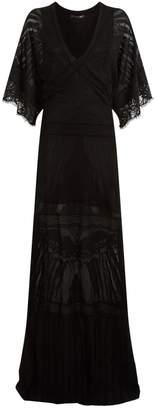 Roberto Cavalli Lace Maxi Dress