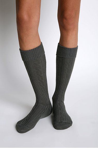 UO Cable-Knit Socks