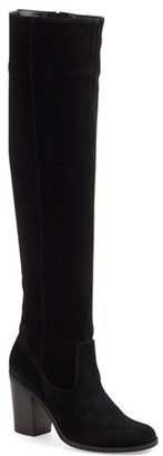 Steve Madden 'Eternul' Over the Knee Block Heel Boot $169.95 thestylecure.com