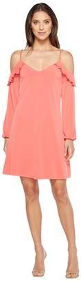MICHAEL Michael Kors Cold Shoulder Chainstrap Dress Women's Dress