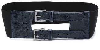 Tufi Duek double buckle belt