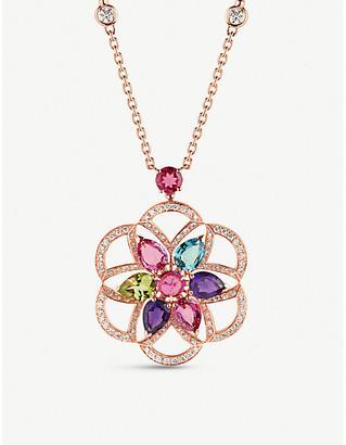 Bvlgari Diva's Dream 18ct rose-gold necklace