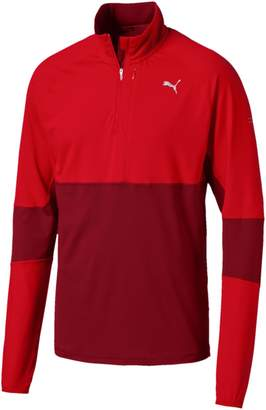 Run Half Zip Mens Long Sleeve Running Top