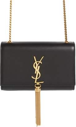 Saint Laurent Kate Tassel Calfskin Leather Shoulder Bag