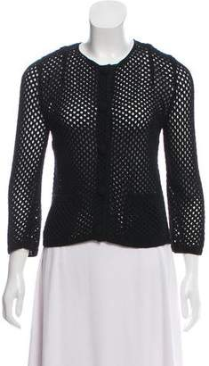 Dolce & Gabbana Crochet Button-Up Cardigan