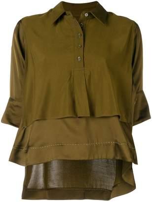 Carven double layer blouse