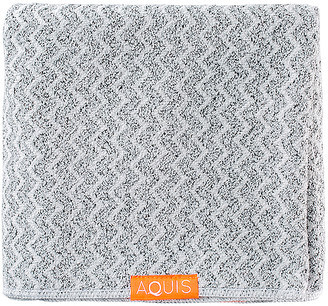 Aquis Chevron Weave Hair Towel