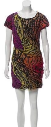 Diane von Furstenberg Silk Cocktail Dress