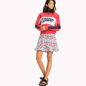 Tommy Hilfiger Racing Print Mini Skirt