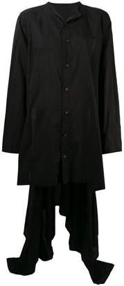 Yohji Yamamoto loose short front dress