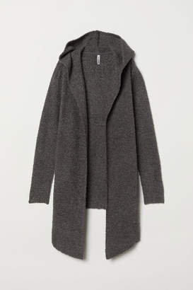 H&M Hooded Cardigan - Gray