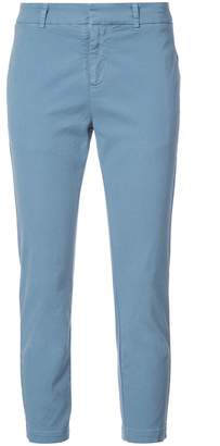 Nili Lotan cropped slim fit trousers