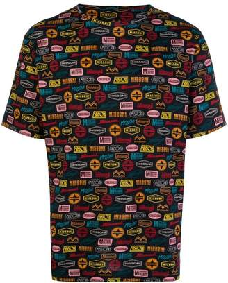 Missoni Mare multi logo print T-shirt