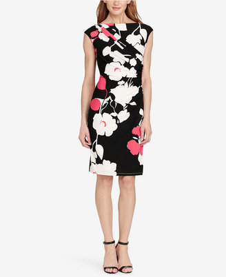 American Living Pleated Floral-Print Dress $79 thestylecure.com