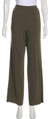Helmut Lang High-Rise Wide-Leg Pants
