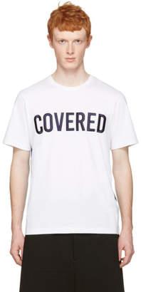 Juun.J White Covered T-Shirt