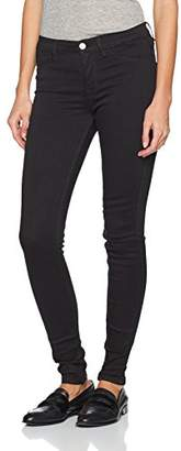 Selected Women's Sfgaia Hr Jegging New Black Noos Trouser