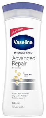 Vaseline Intensive Care Advanced Repair Unscented Lotion 10 oz