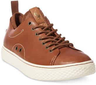 Polo Ralph Lauren Men's Dunovin Leather Sneakers Men's Shoes